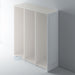 Tall Primed Stepped Panel Shaker End Panel