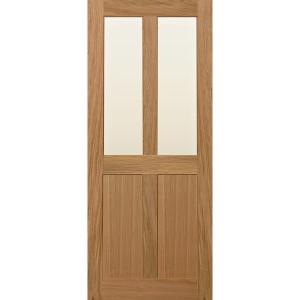 Glazed 4 panel shaker door