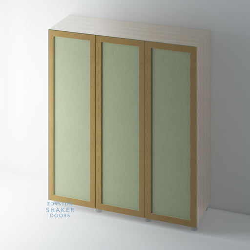 5. Bare Single Panel Shaker Wardrobe Door