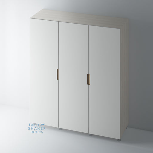 Painted J Groove with Oak Insert Wardrobe