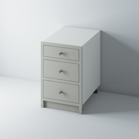 3 Drawer Base Cabinet 600/WM