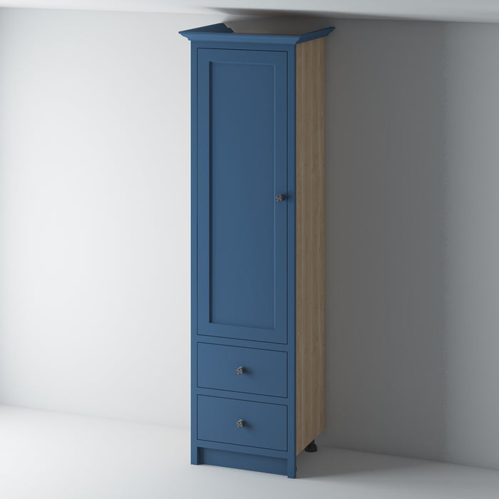 Full Height Larder Cabinet with drawers 600 /OM