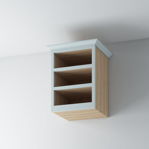 Open Shelf Wall Cabinet 600