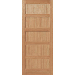 solid oak, internal door, interior door, shaker style