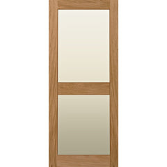 Internal door, interior door, Glazed, 2 panel door