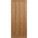 Solid Oak, Interior door, Interna Door, 3 panel door