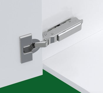 Concealed Cup Hinge, 120° Standard, Half Overlay/Twin Mounting, Tiomos