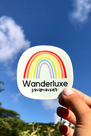 Retro Rainbow Sticker