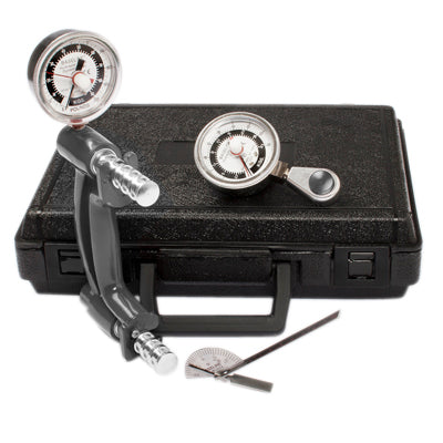 "Baseline Hand Evaluation 3 Piece Kit W/ 200 lb Hand Dynamometer, 50 lb Hydraulic Pinch Gauge & 6"" Stainless Steel Finger Goniometer"