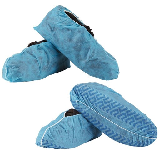 Shoe Covers XL Blue Non Skid 100/bag