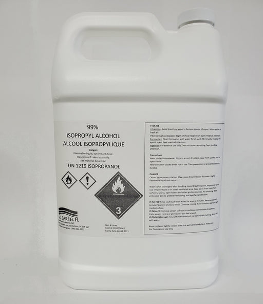 99,8% Isopropyl Alcohol 4L