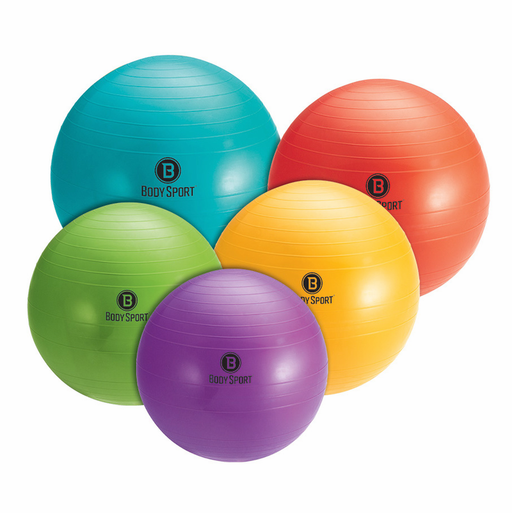 Body Sport Anti-Burst Fitness Ball With Pump