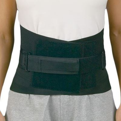Medspec Back N Black Back Support, Small