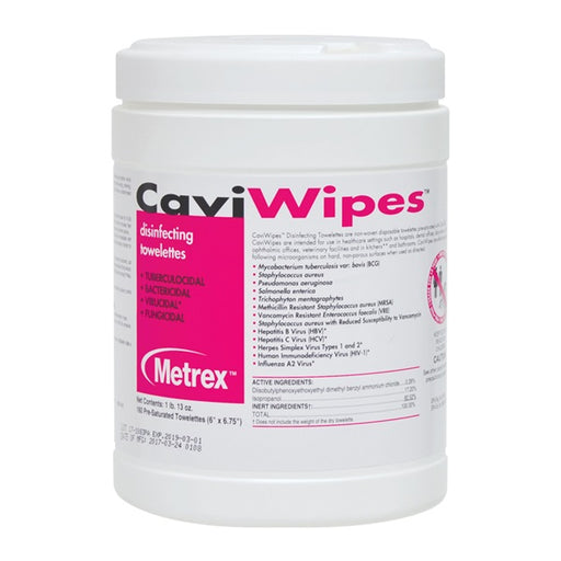 CaviWipes Disinfectant Wipes