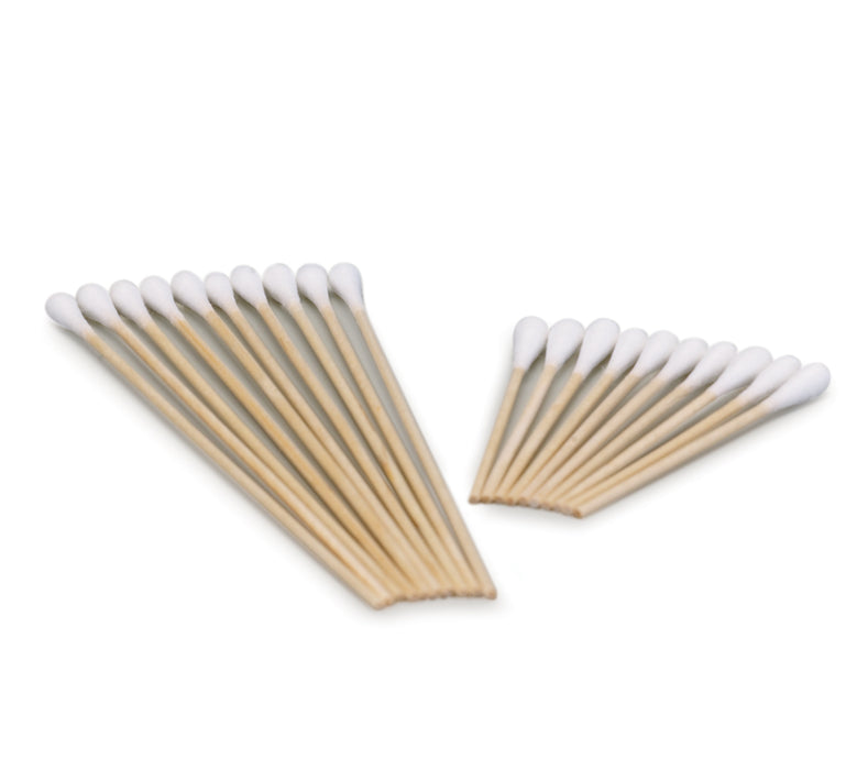 "Cotton Tip Applicator Sterile 6"" 2/Pkg 100 pkg/Box"