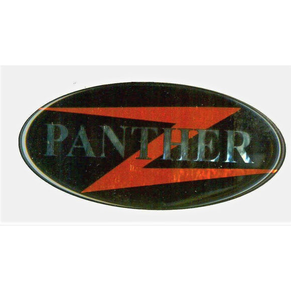 400278 DECAL DOMED PANTHER
