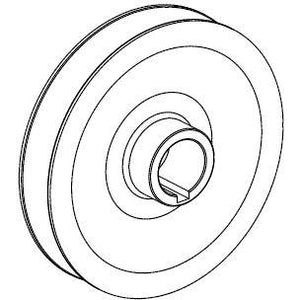 400353 PULLEY, SPINDLE