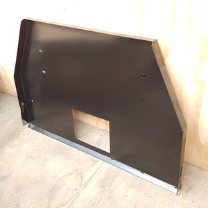 ZTS189 REAR PANEL BLACK COMPLETED ASSEMBLY