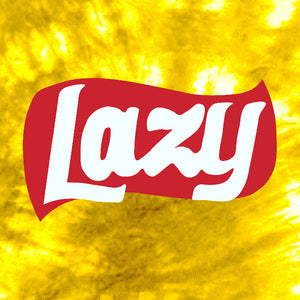 Lazy Cotton Tie Dye T-Shirt