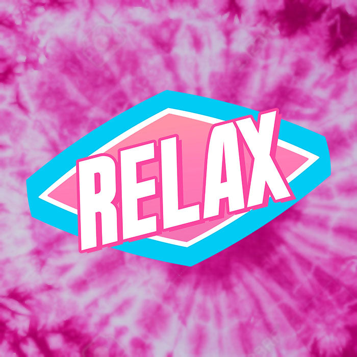 Relax Pink Cotton Tie Dye T-Shirt