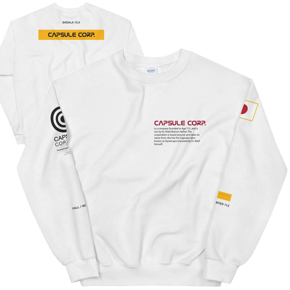 CAPSULE CORP. SPACE Sweatshirt