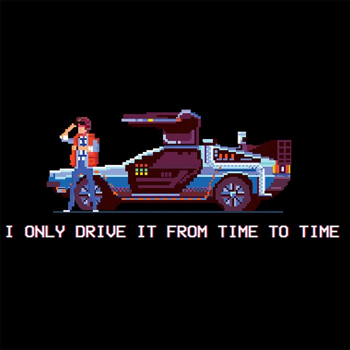 Delorean Time T-Shirt