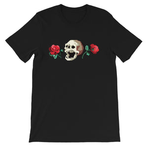 Low-Bit Rose n Skull T-Shirt