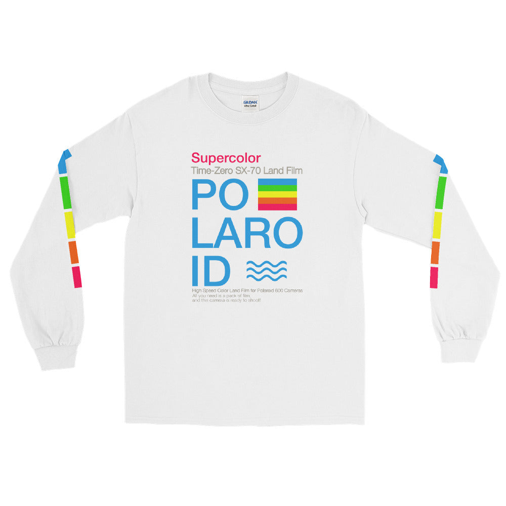 Retro Supercolor Long Sleeve Tee