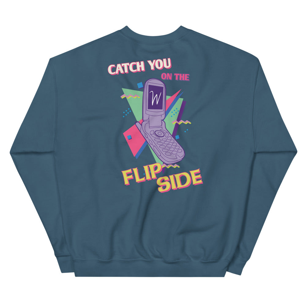 Retro Flip Phone Sweatshirt