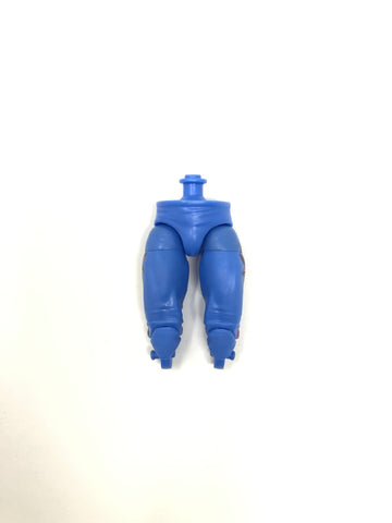 Blue Pants with Side Design