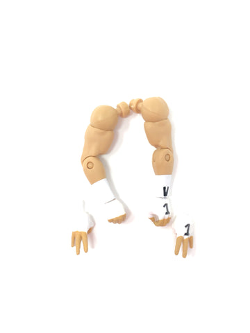 Arms (version 1 wrist tape) with extra hands