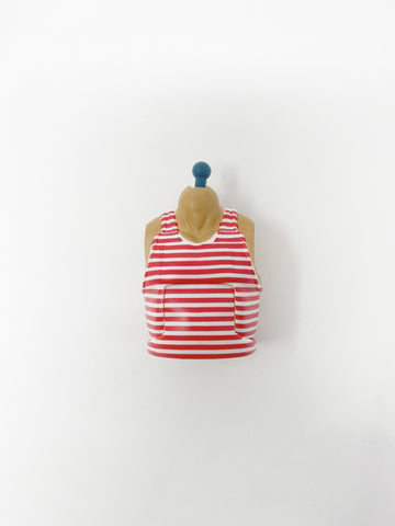 XL Torso with Red/White Strip Shirt