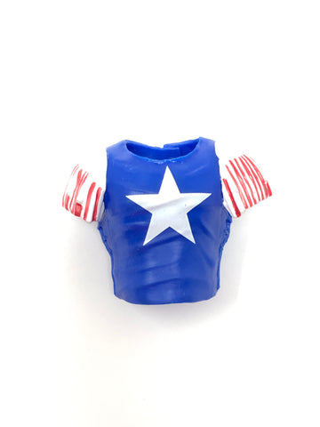 Randy Savage Jacket (blue with white star)