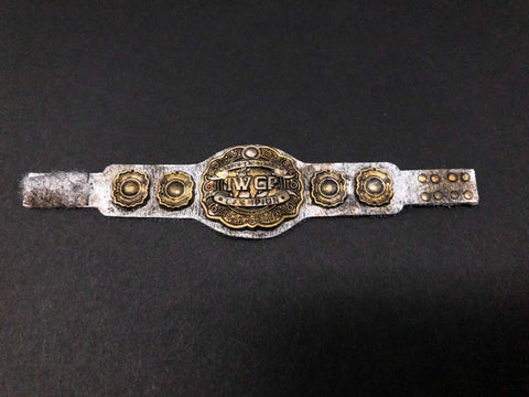 IWGP Intercontinental Championship Custom Belt - Destroyed version