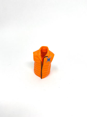Orange Face the Facts Vest