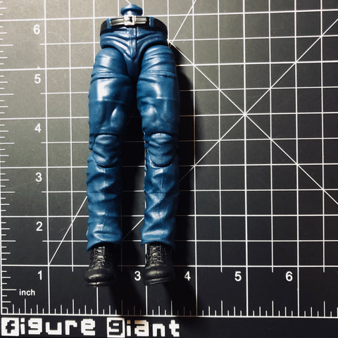 Dark Blue Jeans with Black Belt (Full leg)