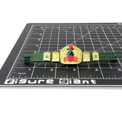 European Champion Belt (custom green belt)