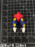 Red Trunks with Blue and yellow stars pants