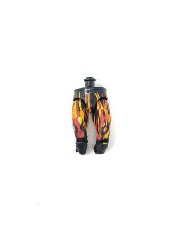 Black Pants with Red/Yellow Flames