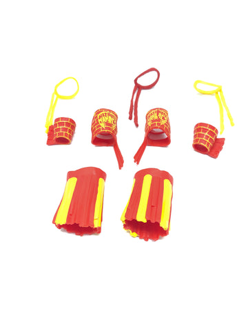 Ultimate Warrior (Red/Yellow) Accessory Set