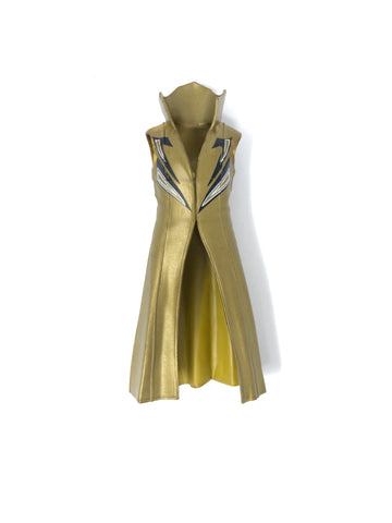 Sin Cara Gold Jacket with Black