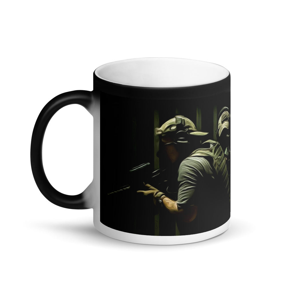 Matte Black Magic Mug
