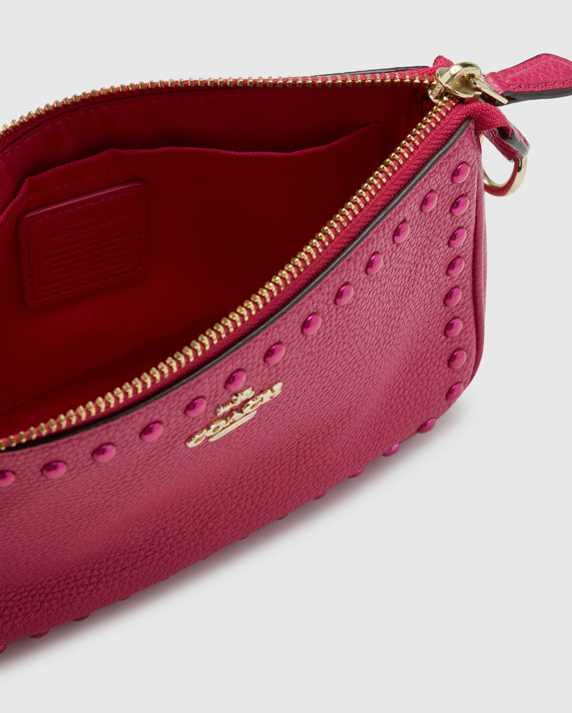 Coach Hot Pink Small Clutch