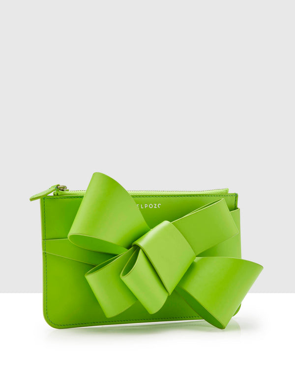 Delpozo Mini Bow Embellished Clutch