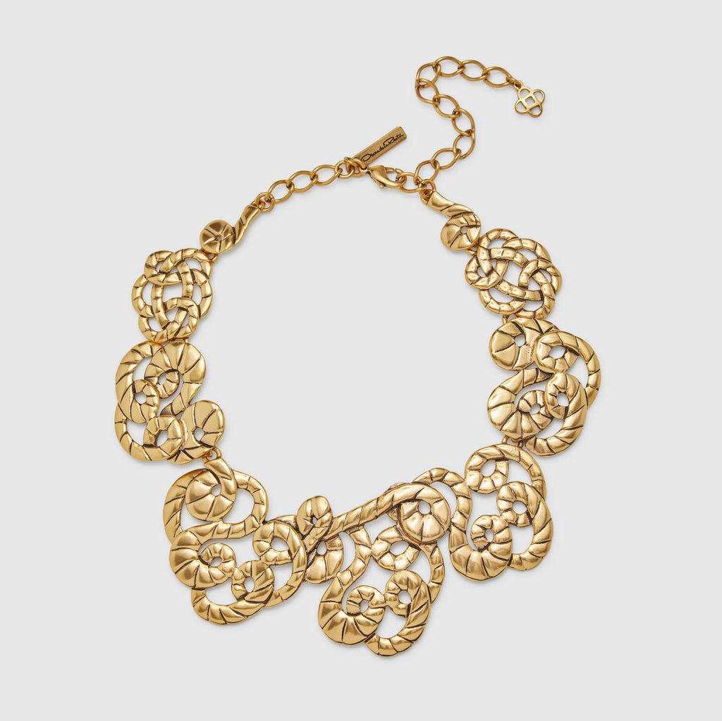 Oscar De La Renta Rope Necklace