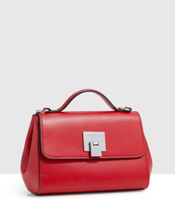 Piumelli Red Classic Clutch