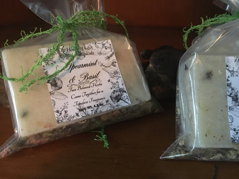 Spearmint & Basil Bath Soap