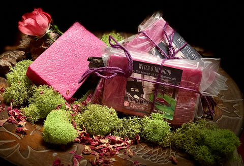 Midnight Rose Exfoliating Artisan Soap