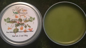 Leaves of 3-Poison Ivy Salve