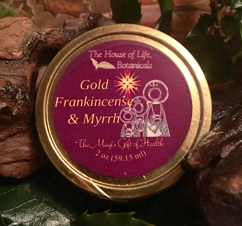 Gift of the Magi-GOLDenseal, Frankincense & Myrrh Salve for Troubled Skin